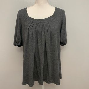 Oh Baby by Motherhood   Gray Loose Maternity Top